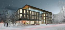 Architectural Rendering of the ETFO project